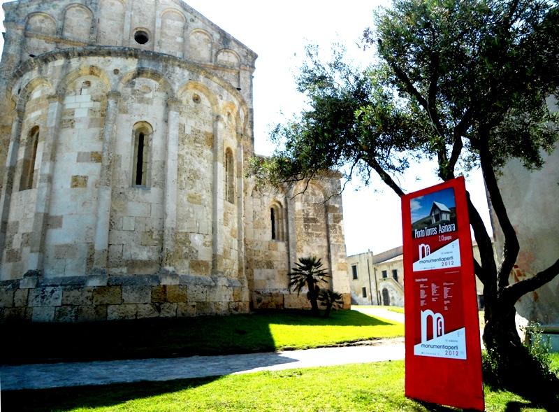 La Basilica di San Gavino in una delle precedenti edizioni di Monumenti Aperti