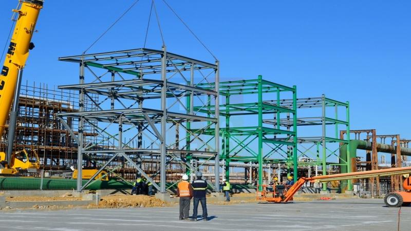 Gli impianti di MAtrica durante la costruzione (ph. Illatv.it)