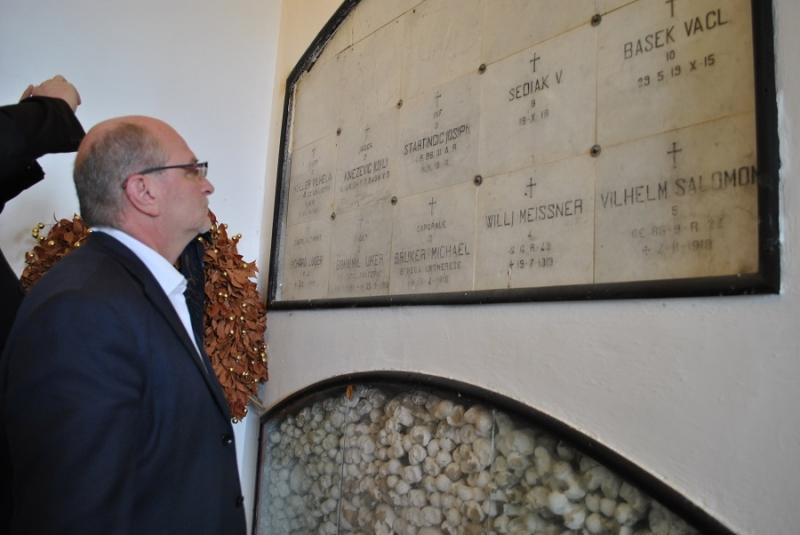 Tamàs Török visita l'Asinara